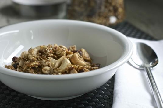 gluten free granola 1 bowl 1