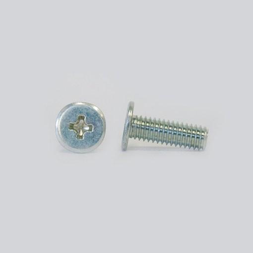 Qua Slim Head Screw Stainless A2 M3x6