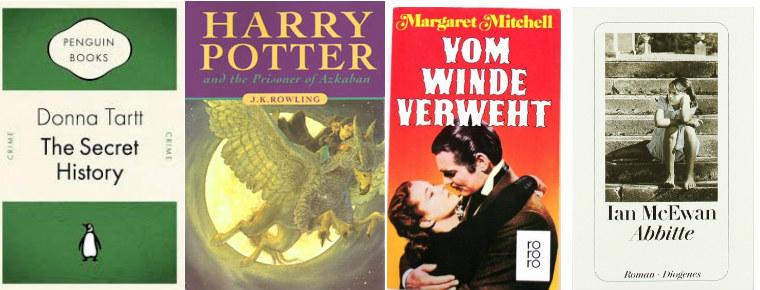 The Secret History, Harry Potter, Vom Winde verweht, Abbitte