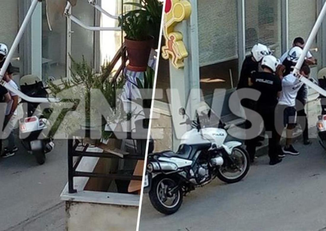 Αποκλειστικό ΑΝΤ1: Η σύλληψη του ληστή τράπεζας στην Πάργα (εικόνες)
