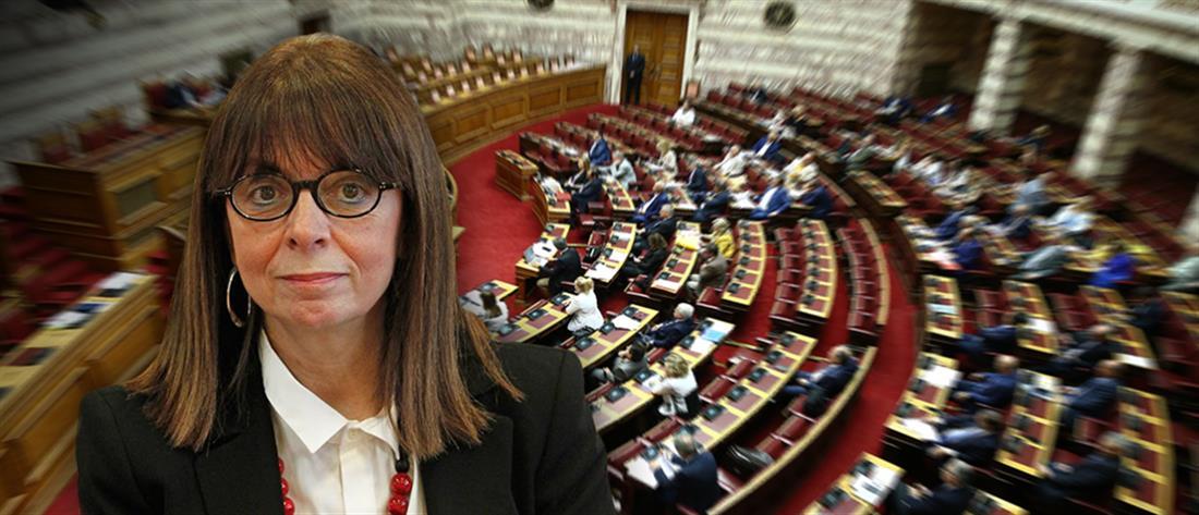 Αικατερίνη Σακελλαροπούλου: Η ψηφοφορία για την εκλογή της Προέδρου της  Δημοκρατίας | Πολιτική | ANT1 News