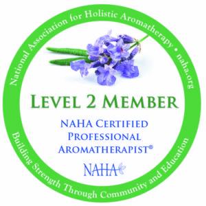 NAHA certified professional aromatherapist - antahsaara energy healing