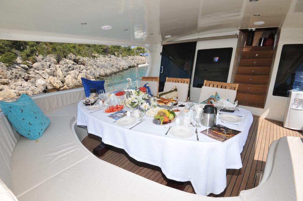 V5010 Model Rental VIP Yacht Antalya