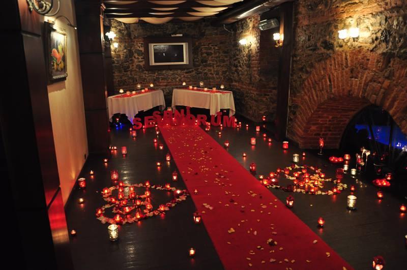 Candlelight Dinner in Antalya romantisches Abendessen am
