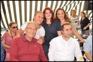Talya Cafe Bistro- Nuri Alço, Fidan İlteray, Antalya TV, Muhabir Rüya Kürümoğlu (101)