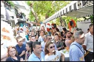 Talya Cafe Bistro- Nuri Alço, Fidan İlteray, Antalya TV, Muhabir Rüya Kürümoğlu (110)