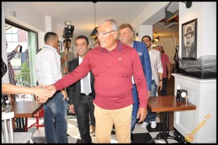 Talya Cafe Bistro- Nuri Alço, Fidan İlteray, Antalya TV, Muhabir Rüya Kürümoğlu (171)