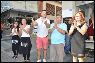 Talya Cafe Bistro- Nuri Alço, Fidan İlteray, Antalya TV, Muhabir Rüya Kürümoğlu (29)