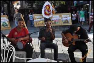Talya Cafe Bistro- Nuri Alço, Fidan İlteray, Antalya TV, Muhabir Rüya Kürümoğlu (309)