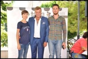 Talya Cafe Bistro- Nuri Alço, Fidan İlteray, Antalya TV, Muhabir Rüya Kürümoğlu (46)