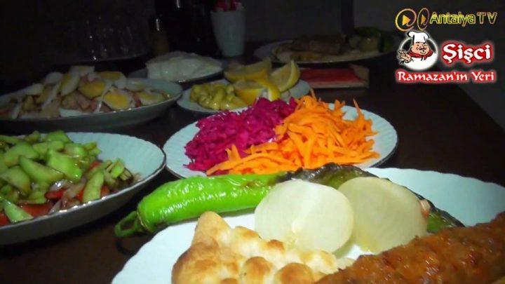 Antalya Şişçi Ramazanın Yeri -sisci ramazan -restaurant şiş köfte piyaz kabak tatlısı (28)