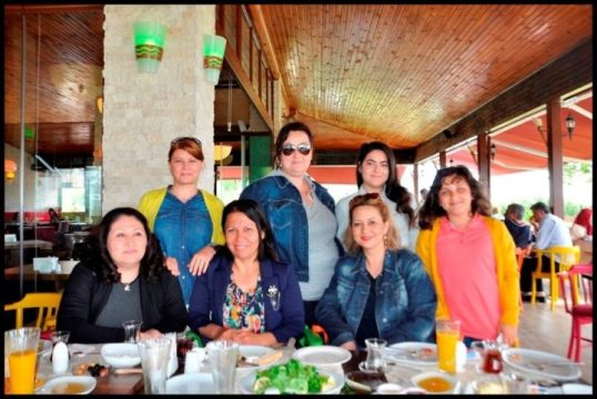 The Lara Landscape Cafe- Sadettin Ersoy-  Antalya TV- Muhabir Rüya Kürümoğlu  (112)