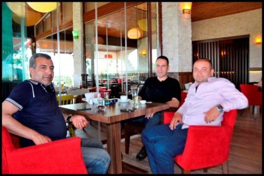 The Lara Landscape Cafe- Sadettin Ersoy-  Antalya TV- Muhabir Rüya Kürümoğlu  (142)