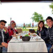 The Lara Landscape Cafe- Sadettin Ersoy- Antalya TV- Muhabir Rüya Kürümoğlu (45)