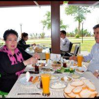The Lara Landscape Cafe- Sadettin Ersoy- Antalya TV- Muhabir Rüya Kürümoğlu (82)