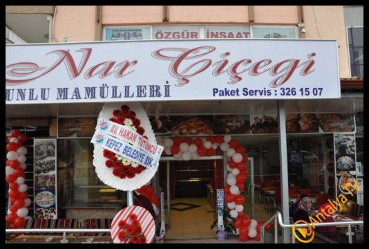 Nar Çiçeği Unlu Mamülleri Kepez'de Açıldı.. (157)