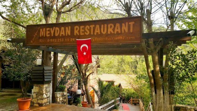 Yarıkpınar Meydan Restaurant Tekirova'da doğal güzellikler...