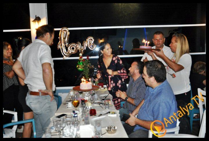 Hatıra Şenoğul Dğum Gününü Keyfi Derya Balık Evinde kutladı (65)