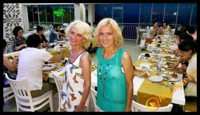 Kabare Saçıbeyaz Restaurant, Alev Bulca- Aylin Bulca