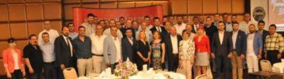 """Genel seçimlere doğru gündemin takipçisi olan Antalya İşadamları Derneği (ANTİAD)'ın düzenlediği """"Tecrübe Paylaşım Toplantısı'nın konuğu TBMM başkanlığı, CHP genel başkanlığı ve bir dönem NATO sivil temsilciliği görevlerini üstlenen Hikmet Çetin oldu."""