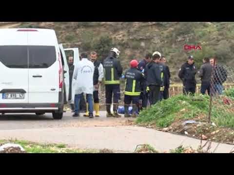 Antalyada kayıp hurdacı derede ölü bulundu