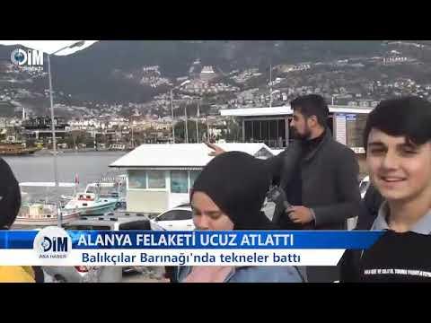 ALANYA FELAKETİ UCUZ ATLATTI- ALANYA HABERLERİ
