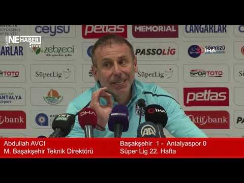 Başakşehir Antalyaspor maçının ardından | Başakşehir 1 – 0 Antalyaspor