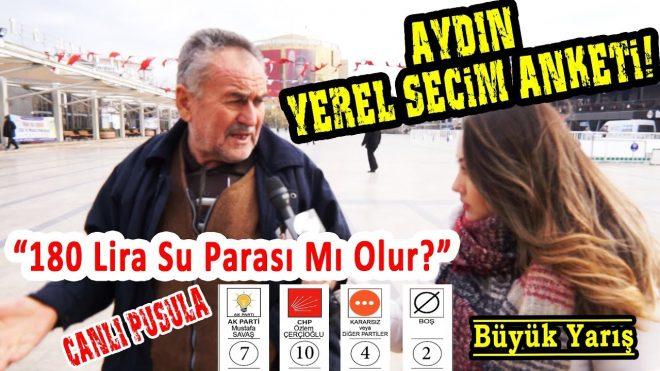 AYDIN'da AKP ve CHP Arasında Çok Kritik Seçim Yarışı! Aydın Yerel Seçim Anketi