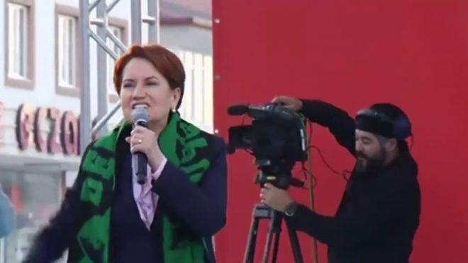 Meral Akşener Denizli'de vatandaşlara terörist dedi Şimdi de Antalya'daki vata