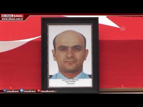 Şehit Polis İlhan Odabaşı son yolculuğuna uğurlandı