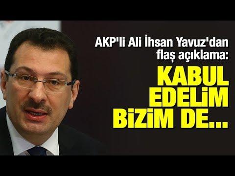 AKP'li Ali İhsan Yavuz'dan İstanbul seçim sonuçları ve Maltepe açıklaması