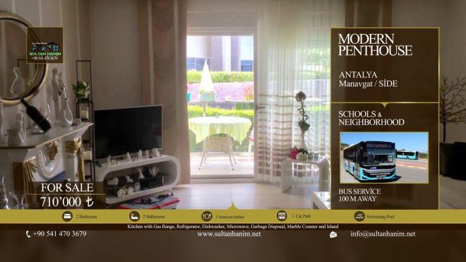 Modern Penthouse Manavgat /Side