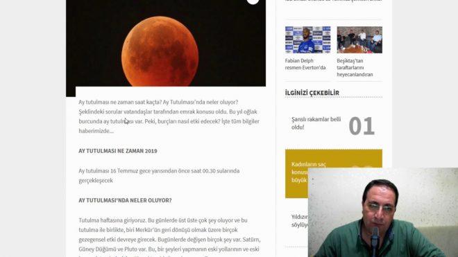 Ay Tutulması Ne Zaman Temmuz 2019 – Ay Tutulması ve Burçlar – Google Trends