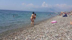 Antalya Plajları Deniz Manzarası Konyaaltı Plajı - Antalya Gezi Tatil