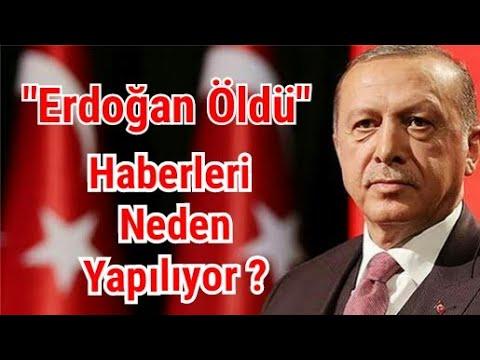 """""""Tayyip Erdoğan Öldü"""" haberleri neden yapılıyor ? Trump'ın U dönüşü ile bu konunun ilgisi ne ?"""