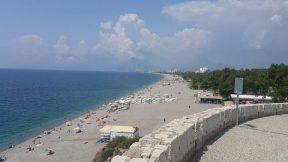 Antalya Varyant Konyaaltı Sahili Deniz Manzarası Antalya Beachpark Panorama Gezi Tatil