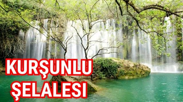 Antalya Kurşunlu Waterfall - Kurşunlu Şelalesi Holiday in Antalya - Best Places in Antalya Natural Beauty