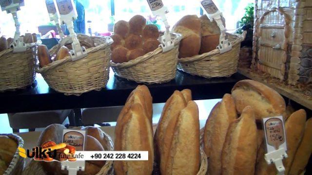 ÜLKÜ FIRIN KAFE - Antalya Cafe Pastane Kahvaltı Simit Ekmek Fırını