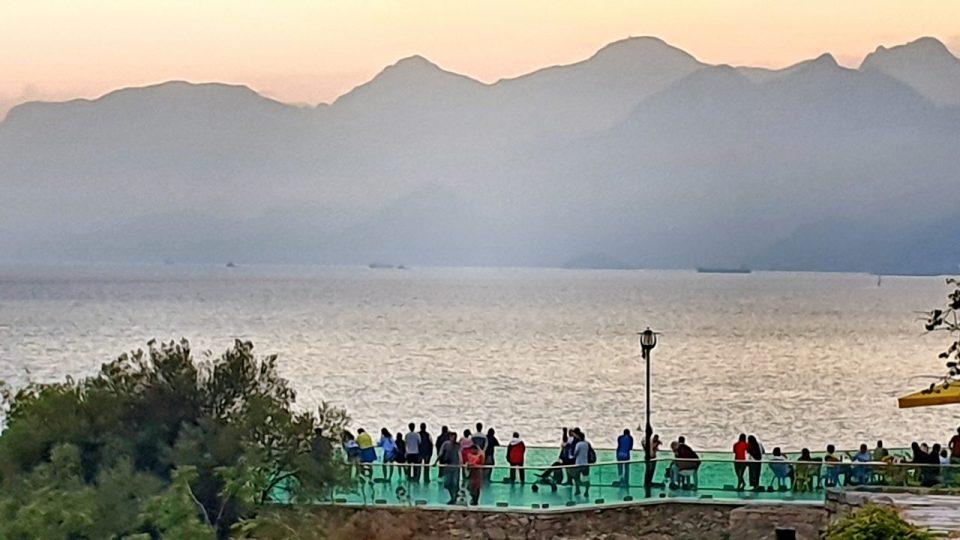 Antalya Ataturk Meydani Deniz Manzarasi (1)