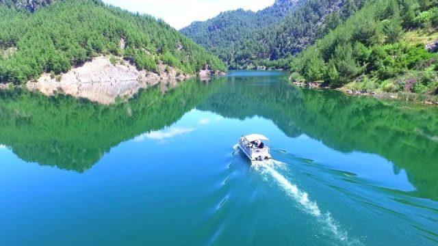 Antalya Isparta Karayolu Gölbaşı Restaurant Harika Manzara Doğal Güzellikler Karacaören Barajı