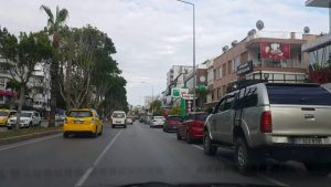 Dedeman Otel Kavşağı - İsmet Gökşen Cad - Laura AVM Kavşağı - Antalya Şehiriçi Şehir Merkezi Tatil
