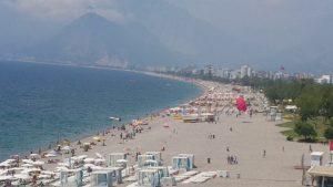Antalya'yı Özleyenler için Konyaaltı Sahili - Antalya Gezi Tatil Tur