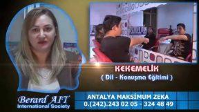 Kekemelik Tedavisi Eğitimi Antalya Maksimum Zeka