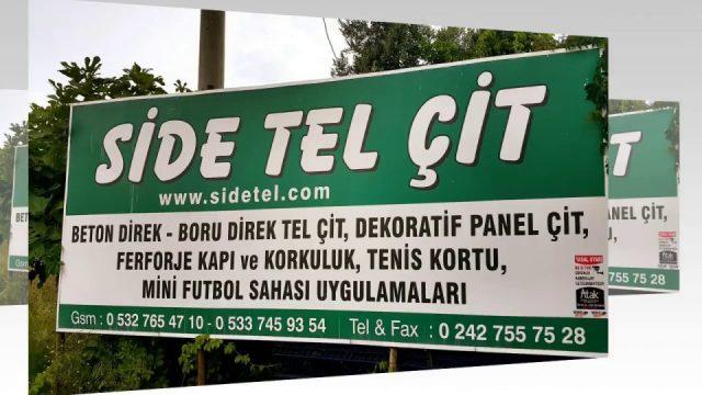 Futbol sahası tel çit 05337459354 saha tel örgü beton direk boru direk