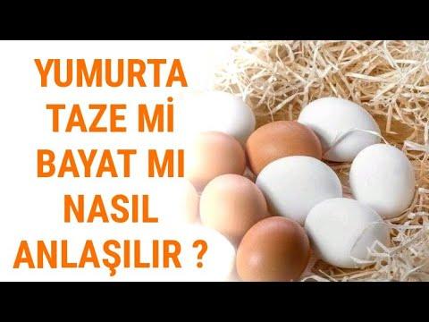 Yumurta taze mi bayat mı olduğu nasıl anlaşılır ? - Pratik Bilgiler