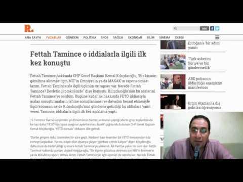 Fettah Tamince Kimdir ? Fettah Tamince Avukatı ve hakkındaki iddialar