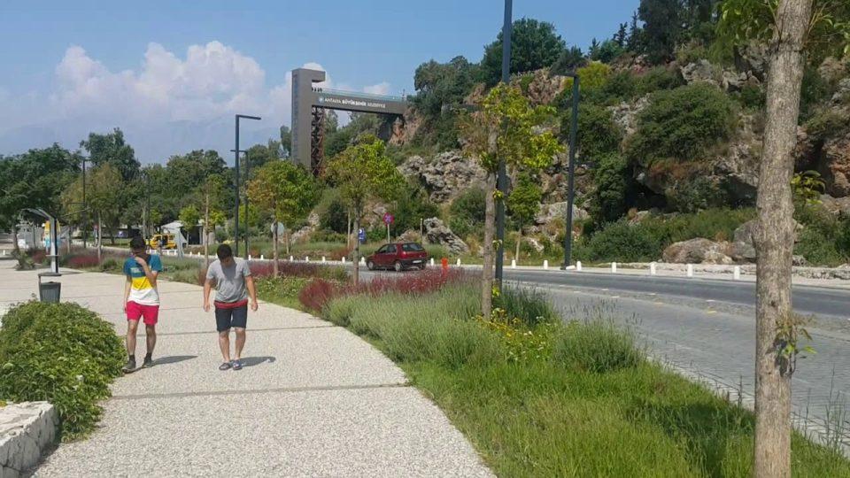 Varyanttan Beach Park'a Yürüyüş – Antalya Gezi Tatil – 10/16