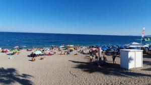 Konyaaltı Sahili Deniz Manzarası Antalya Plajları Gezi Tatil