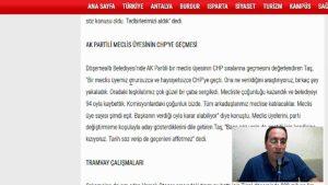 Ak Parti'ye geçen eski belediye başkanları da onursuz ve haysiyetsiz mi ? - Ali Aksoy