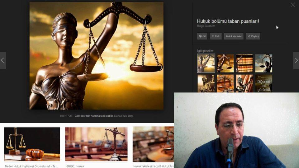 Yok olacak meslekler: Hukuk, Hakimlik, Savcılık Avukatlık Mesleği – Ali Aksoy